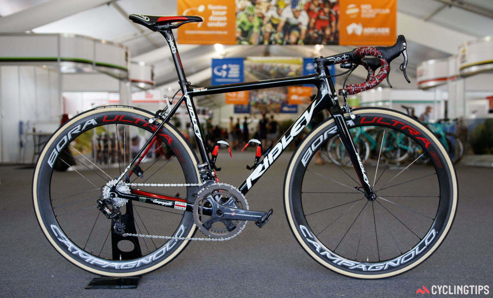 La bicicleta nueva en Tour Down Under 2017