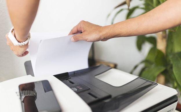 papel para impresora