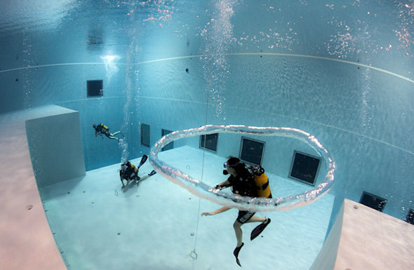 La piscinas Nemo33 es especial.