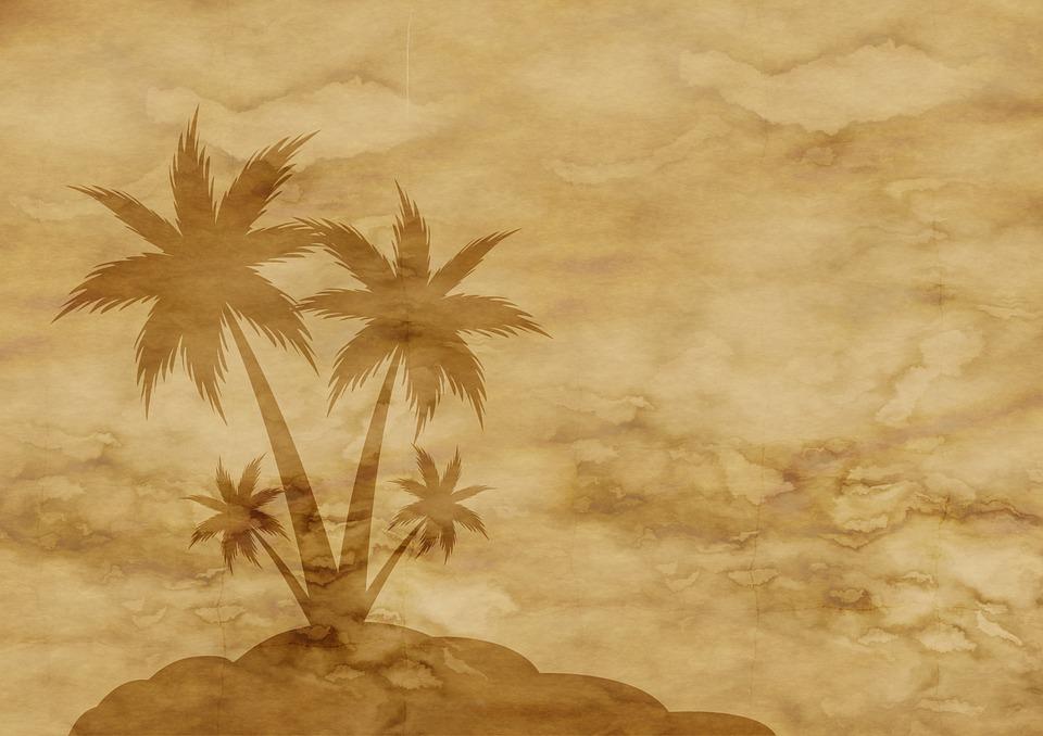 papel pergamino palmera