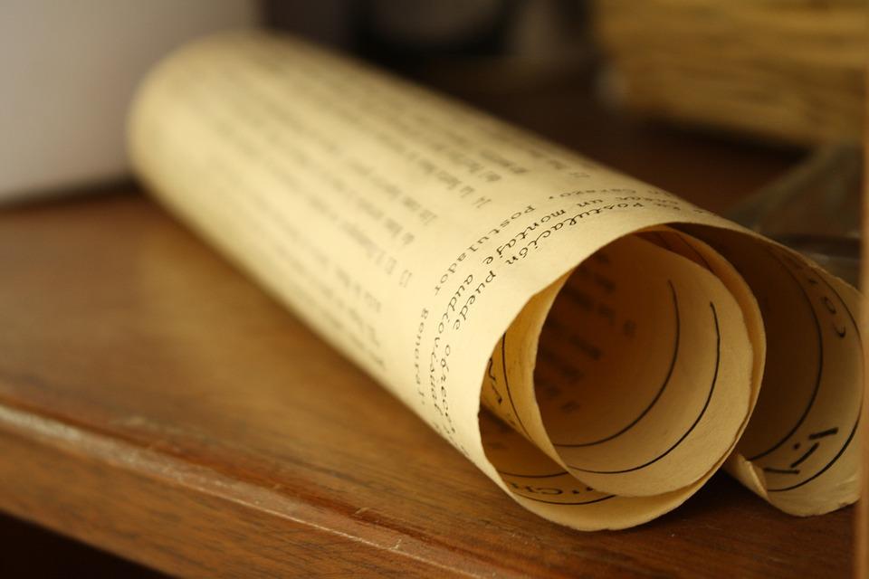 diploma pergamino